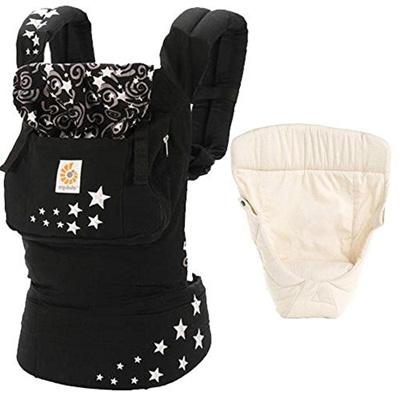 Ergobaby Ergo Baby Original Baby Carrier Bundle Of Joy In Night Sky With Easy Snug Infant Inser