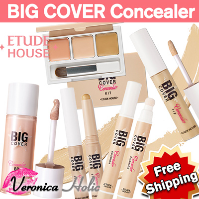 [ETUDE HOUSE] Big Cover Cushion Concealer SPF30/PA++/Big Cover Concealer BB