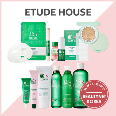 [Etude House] AC Clean Up Toner / AC Clean Up Gel Lotion / AC