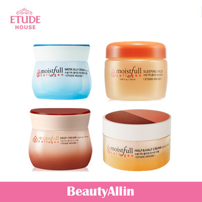 Etude House - Moistfull Collagen Sleeping Pack 100ml / Moistfull Collagen Deep Cream 75ml / Moistfull