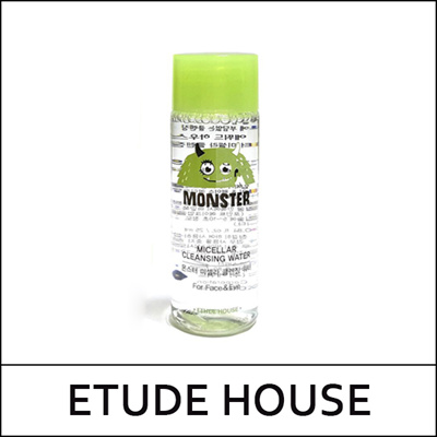 [ETUDE HOUSE] Monster Micellar Cleansing Water Sample (25ml + Cotton pad 8ea)