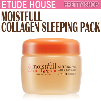 ☆ETUDE HOUSE ☆[sleeping] Moistfull Collagen Sleeping Pack(100ml)