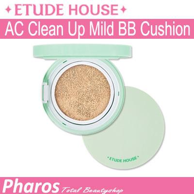 [Pharos]☆Etude House☆ AC Clean Up Mild BB Cushion 14g SPF 50