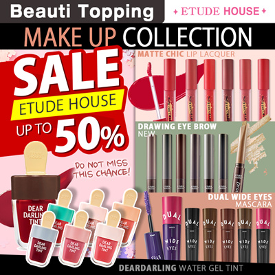 Etude HouseUp to 50% SALE [ETUDE HOUSE] Dear Darling Water Gel Tint/Drawing  Eye Brow New/Matte chic lip lacquer
