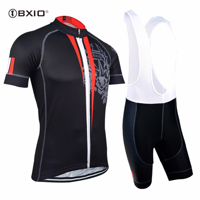 1d29a53ef EU Brand BXIO Cycling Jersey Top Quality Seamless Stitching Short Sleeves Bicycle  Clothing 5D Gel Pa