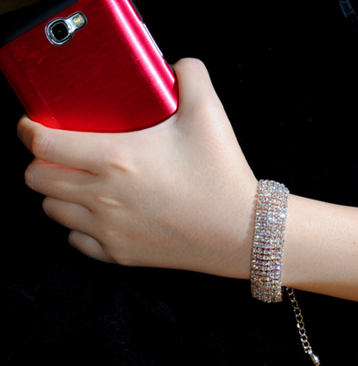 qoo10 euro diamond cubic bracelet new item jam tangan perhiasaan. Black Bedroom Furniture Sets. Home Design Ideas
