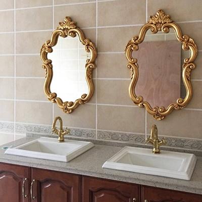 European Modern Baroque Style Hanging Mirror Bathroom Mirrors Bathrooms Bathr