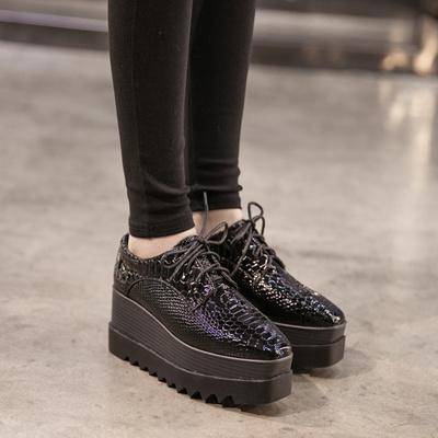 2fd3e50953a Qoo european platform shoes women autumn end of thick black flashes mens  bags sho jpg 400x400