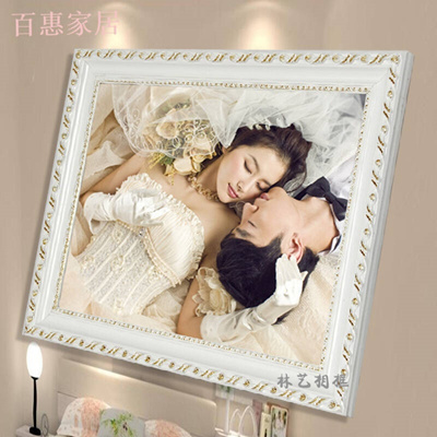 Qoo10 - European-style solid wood photo Frame 10 16 18 20 24 inch A3 ...