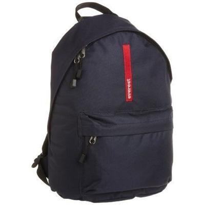 eb225253c Qoo10 - Everest Luggage Stylish Backpack, Navy, Medium [from USA] : Men's  Bags & Shoes