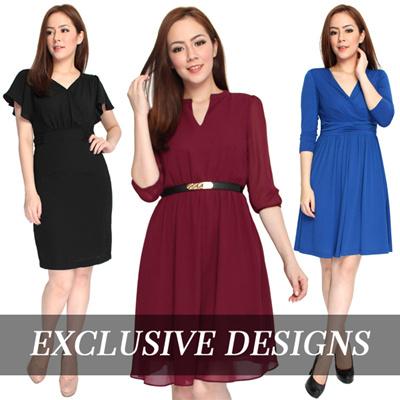 1eb9a85f70 Qoo10 - Premium Work Dress : Women's Clothing