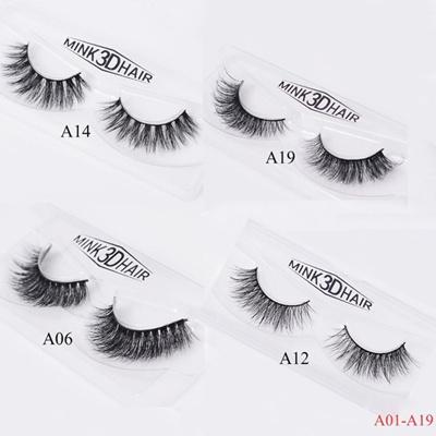 f345fed53e1 Qoo10 - Eyelashes 3D Mink Eyelashes Crossing Mink Lashes Hand Made Full  Strip ... : Cosmetics