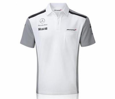 qoo10 - f1 mclaren team polo : men's apparel