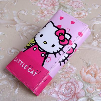 4bad560bda30 Qoo10 - factory Cute Cartoon Hello Kitty Wallet Cat Bag Women Leather  Wallets ...   Bag   Wallet