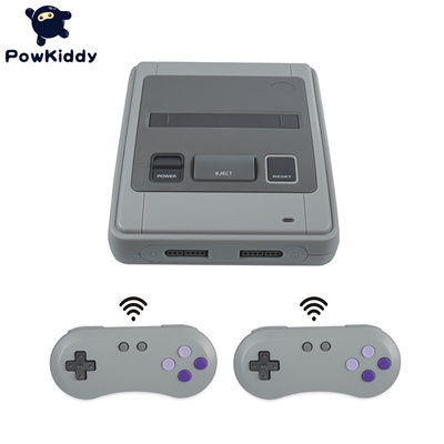 factory HDMI Retro TV Video Game Console For Snes Game Cartridges with 2  Wireless+1 Wired Gamepads F