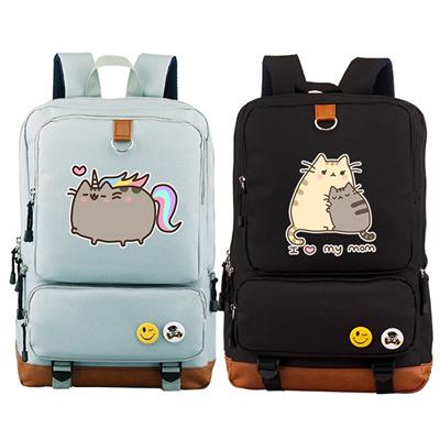 f9348ddf41 Qoo10 - factory New Arrival Pusheen Cat Printing Backpack Kawaii Women  Backpac... : Men's Bags & Sho.