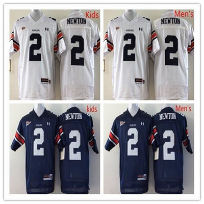 purchase cheap 81c6a 423a7 Factory Outlet- #2 Cam Newton Auburn Tigers Jersey,Navy Blue White Stitched  Top Quality College Foot