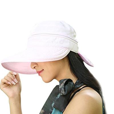 2790fb97da5dc Qoo10 - (Fakeface) Womens 2in1 Wide Brim Summer Folding Anti-UV Golf Tennis  Su...   Fashion Accessor.