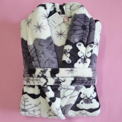 Qoo10 - Fall winter Pajamas flannel couples men and ladies bathrobe  thickened ...   Women s Clothing 6eeb4ad73