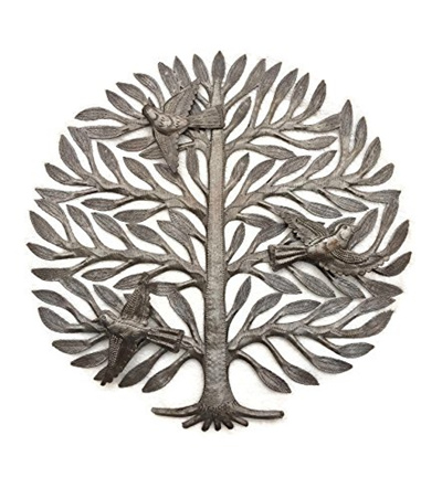 Qoo10 Family Tree Haitian Drum Art Metal Tree Wall Decor Tree Of