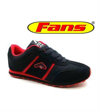 Qoo10 - Fans Jaguar B - Jogging Premium Shoes Black Red   Tas ... b258131040