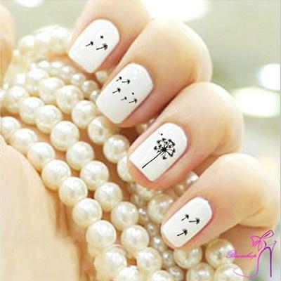 Qoo10 Fashion Beauty Water Transfer Stickers Nail Art Tips Diy