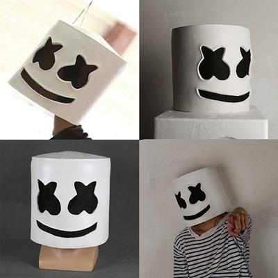 Qoo10 Fashion Dj Marshmello Mask Cosplay Costume Accessory Helmet