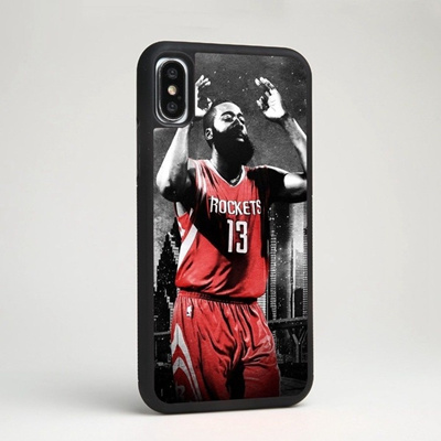 f9b100ef825 Fashion James Harden Houston Rockets Basketball Fans Phone Case Cover for IPhone  4 4S 5 5C