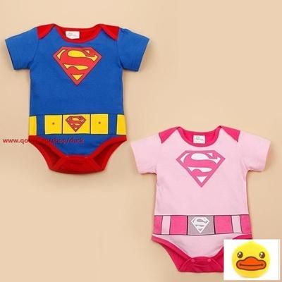 4c2d913eb Qoo10 - Fashion New Baby Girl And Boy Superman Rompers Infant Bodysuit Bebe  Ju... : Kids Fashion