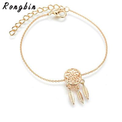 Qoo40 Fashion Silver Color Dreamcatcher Charm Bracelets For Women Amazing Dream Catcher Charm Bracelet