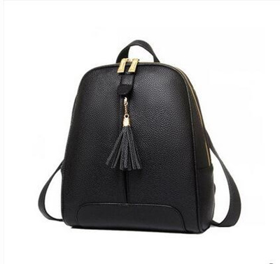 9529f3f1fc3e Qoo10 - Fashion trend ladies fringed small backpack   Bag   Wallet