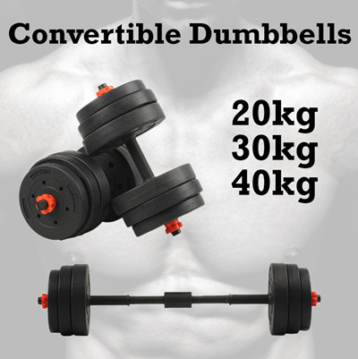 Dumbbells For Sale >> Fast Delivery Bigfish Fast Delivery Best Dumbbell Barbell Set In Sg 20kg 40kg Adjustable Convertible