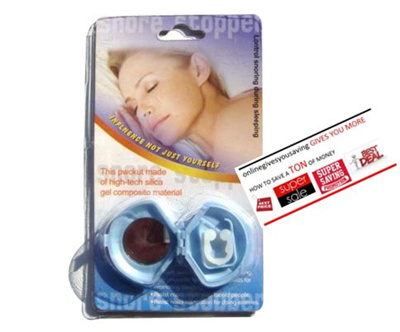 Fast Delivery Singapore SellerSNORE STOPPER STOP SNORING AID ANTI-SNORING  DEVICE CURE SLEEPLESS NIGHT