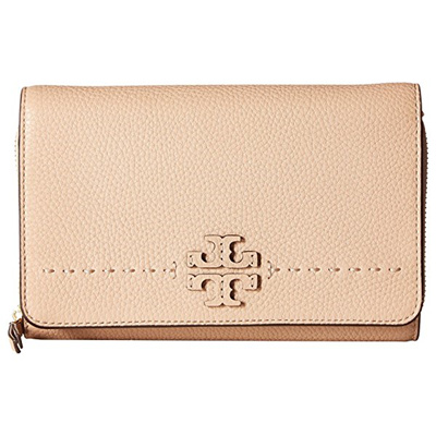 870c6812163 Qoo10 -  Fastest Shipping McGraw Flat Wallet Crossbody - Devon Sand USA     Bag   Wallet