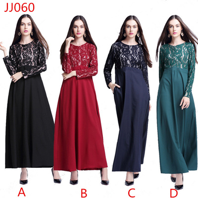Maxi dresses for muslimah