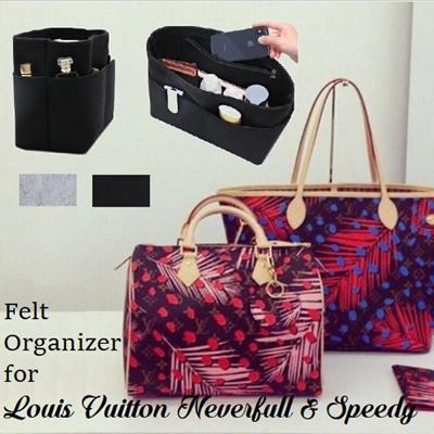 Qoo10 - Felt Organizer   Bag   Wallet fabdb5597b666