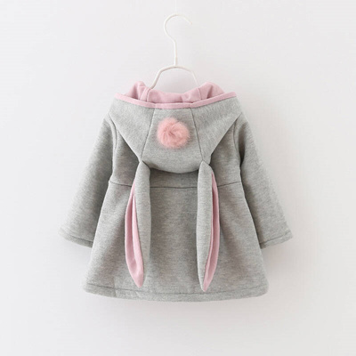 Qoo10 - Female baby 2017 girl Autumn dress children 1 hooded baby coat  0-3-yea...   Women s Clothing dca1e662f5