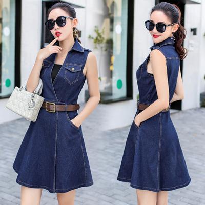 b1307bfd10 Qoo10 - denim dress : Women's Clothing