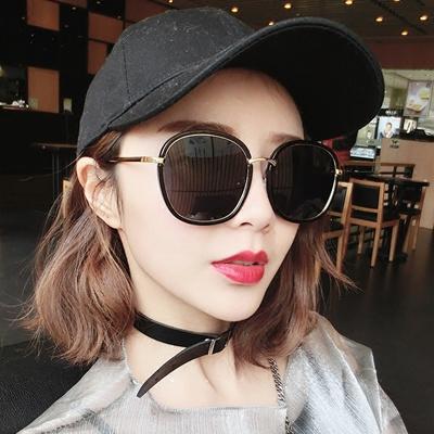 23aee3b79b Qoo10 - Female GM sunglasses 2017 square face, round face flashes can be  worth...   Fashion Accessor.