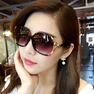 eda4d78c93 Qoo10 - Female sunglasses 2017 stars round face flashes long elegant  personali...   Fashion Accessor.