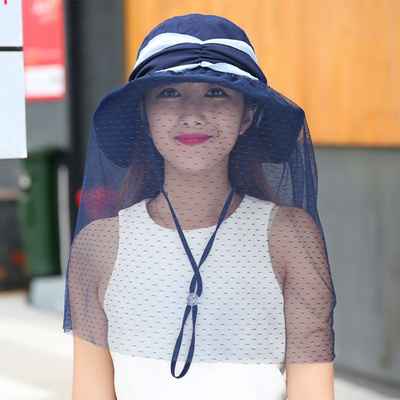 711726023cd Qoo10 - Female UV sun protection Hat cover face fisherman Hat sun visor  Korean...   Fashion Accessor.