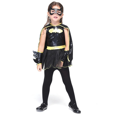 FESTNIGHT Fun Batwoman Costumes Halloween Children Skirt Suit Cosplay Bat Costume Party Clothes  sc 1 st  Qoo10 : batwoman costume accessories  - Germanpascual.Com