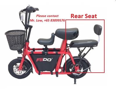 Fiido Rear Seat Bicycle Seat Bike Seat Rear Seat Cushion Seat