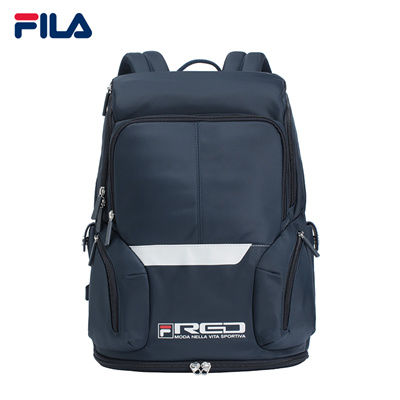 Qoo10 - FILA Backpack Men Red Line Functional Backpack Bags   Men s Bags    Shoes