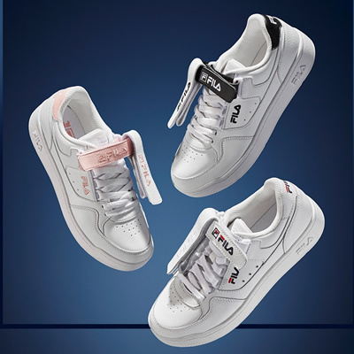 [FILA] FX VELTRAP Sneakers 3type Velcro Court shoes