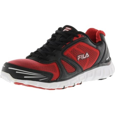 4e789161 FILAFila Mens Memory Solidarity Safety Yellow / Black White Ankle-High  Running Shoe - 11.5M