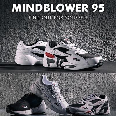 fa1aead5cec4 FILA FILA  MIND BLOWER 95 FS1HTA3022X 2018 NEW Running shoes