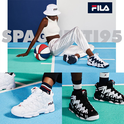 96610fae3b12 Qoo10 -  FILA  SPAGHETTI 95 FS 1 HTA 1012 (game point) Sneakers ...