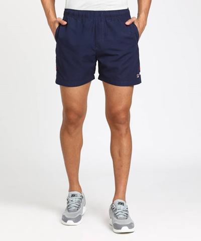 9b39bcdd0136 Qoo10 - Fila Striped Mens Red White Blue Sports Shorts   Men s Clothing