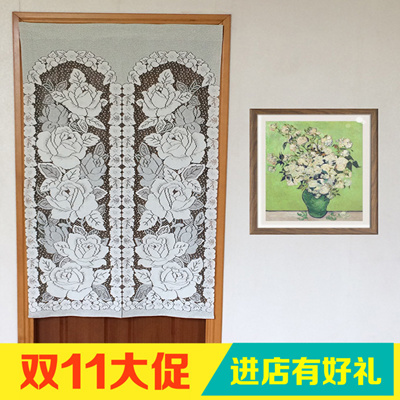 2d6cefa9f359 Qoo10 - Finished fabric curtain lace embroidery special Japanese style  garden ...   Furniture   Deco